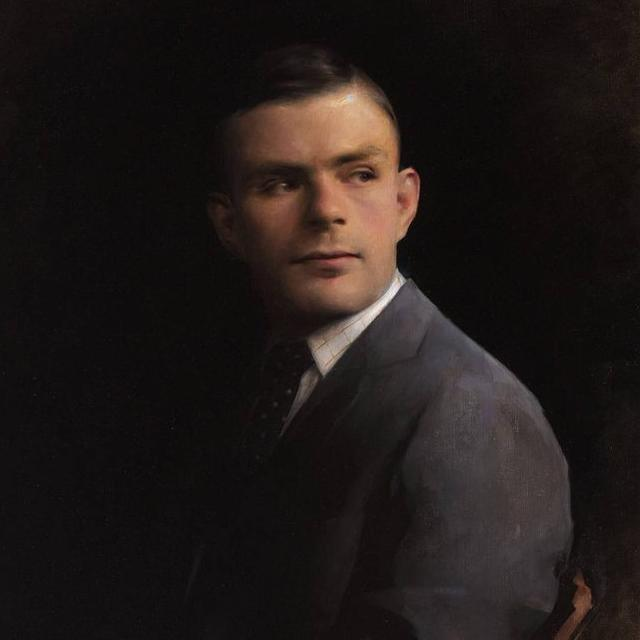 Image of portrait of Alan Turing