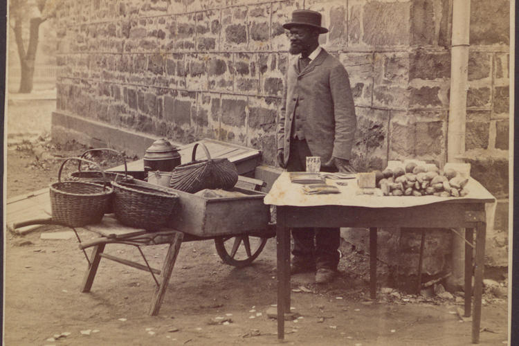 James Johnson 1881 circa table of goods